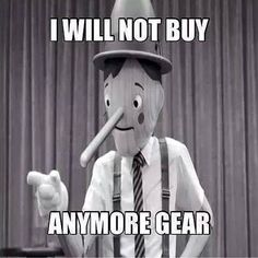 no more gear